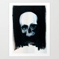 Bones XIV Art Print