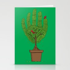 A bird in hand Stationery Cards