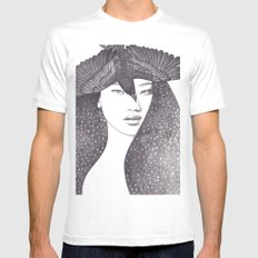 Soul Sister SMALL White Mens Fitted Tee