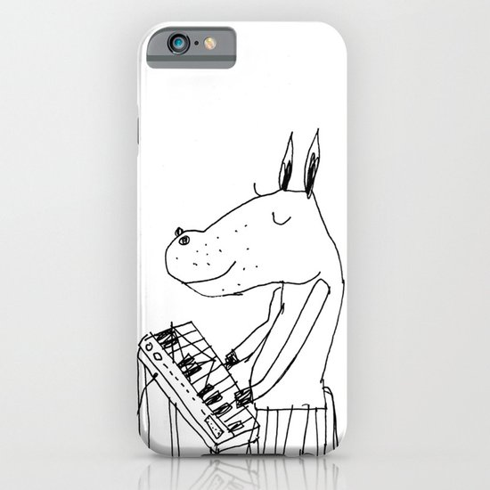 keyboard player iPhone & iPod Case