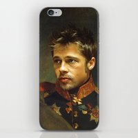 Brad Pitt - Replaceface iPhone & iPod Skin