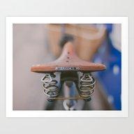 Brooks Bike Art Print