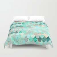 SUMMER MERMAID Duvet Cover
