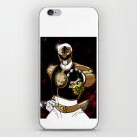 White Ranger Vs. Scorpio… iPhone & iPod Skin