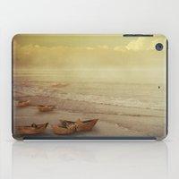 Paper Boats iPad Case