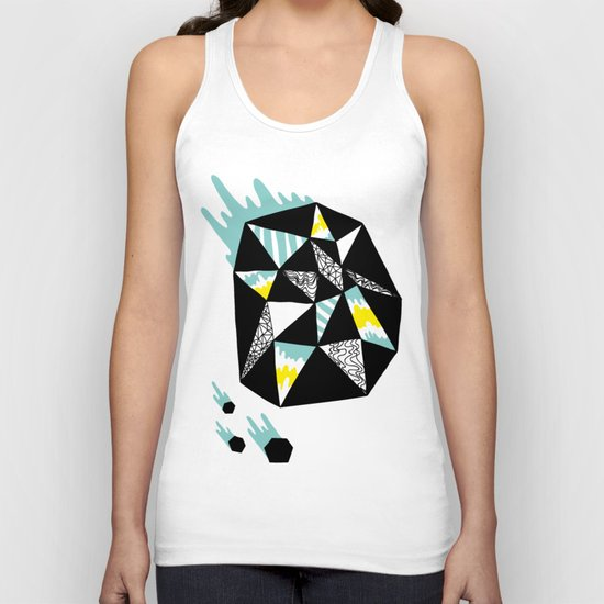 Crystalized II Unisex Tank Top