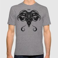 Signs of the Zodiac - Aries Mens Fitted Tee Tri-Grey SMALL