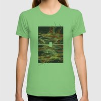 Midnight Fever Womens Fitted Tee Grass SMALL