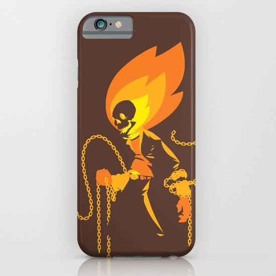 The Ghost Who Rides iPhone & iPod Case