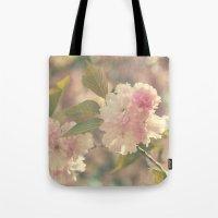 Vintage Blossoms Tote Bag