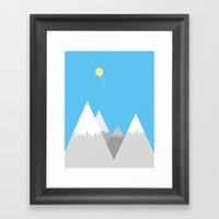 Up, Up And Away Framed Art Print