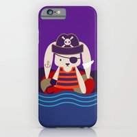 Pirate Bunny Needs Coffee iPhone 6 Slim Case