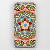 Circus Mandala iPhone & iPod Skin