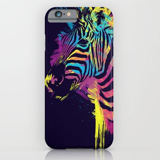 Zebra Splatters iPhone & iPod Case