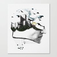 Stronghold&Madness Canvas Print