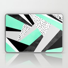 Crazy Fun Turquoise Laptop & iPad Skin