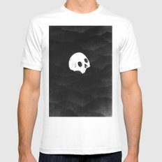 Man & Nature - The Future White Mens Fitted Tee SMALL