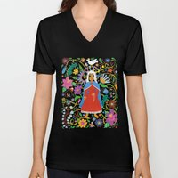 The Blessed Mother Unisex V-Neck