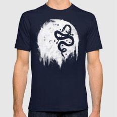 Midnight Wish Mens Fitted Tee Navy SMALL