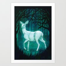 Subtle worlds Art Print