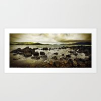 Day Dream Island Shores Art Print