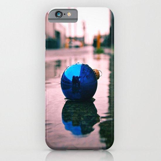 Urban Yuletide reflection iPhone & iPod Case