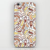 Adorable Otter Swirl iPhone & iPod Skin