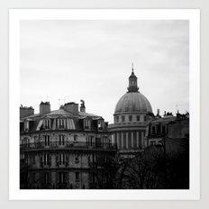 FRENCH REPUBLIC'S PANTHEON. Art Print