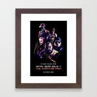The Phantom Pain (Arcade Edition) Framed Art Print