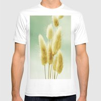 Golden Grass Mens Fitted Tee White SMALL