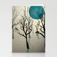 Among The Wolves... Stationery Cards