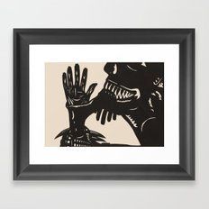 Feast On Their Flesh Framed Art Print