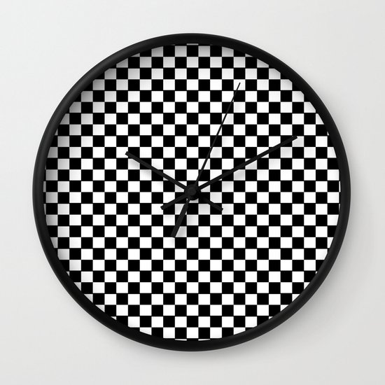 damier Wall Clock