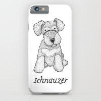 Dog Breeds: Schnauzer iPhone 6 Slim Case