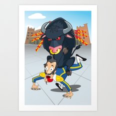 Bullfighter Art Print