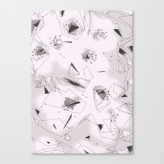 Cherry Flowers Canvas Print