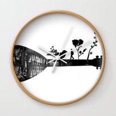 Guitar Childhood Wall Clock
