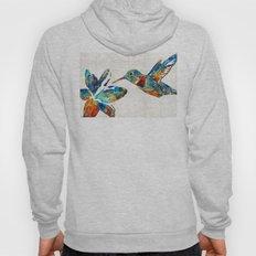 Colorful Hummingbird Art… Hoody
