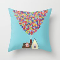 Up Throw Pillow