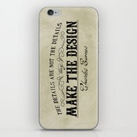 The Details Are Not The … iPhone & iPod Skin