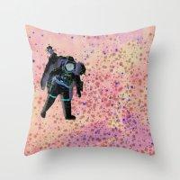 COSMOS 6 Throw Pillow
