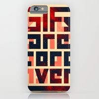 iPhone & iPod Case featuring GIFs are forever by nicebleed