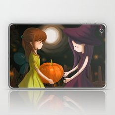 Pumpkin Girls Laptop & iPad Skin