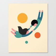 Won't Let Go Canvas Print