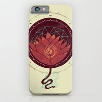 iPhone & iPod Case featuring Red Lotus by Hector Mansilla