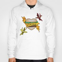 Burger Tattoo Hoody