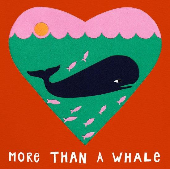 My love is bigger than a whale! Art Print