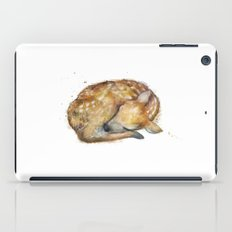 Sleeping Fawn iPad Case