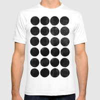 Colorplay Black Mens Fitted Tee White SMALL