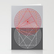 Confused Lines Stationery Cards